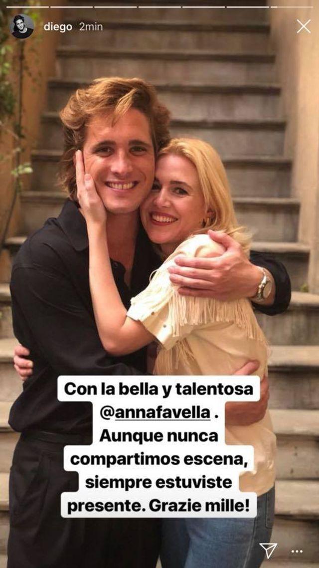 Diego Boneta y Anna Favella en Luis Miguel La Serie