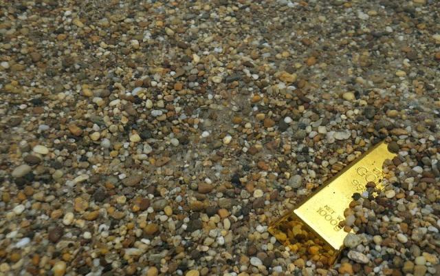 Encuentran toneladas de oro