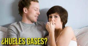 oler los gases de tu pareja