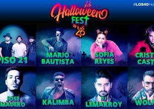 Estos artistas te esperan en el Halloween Fest By LOS40