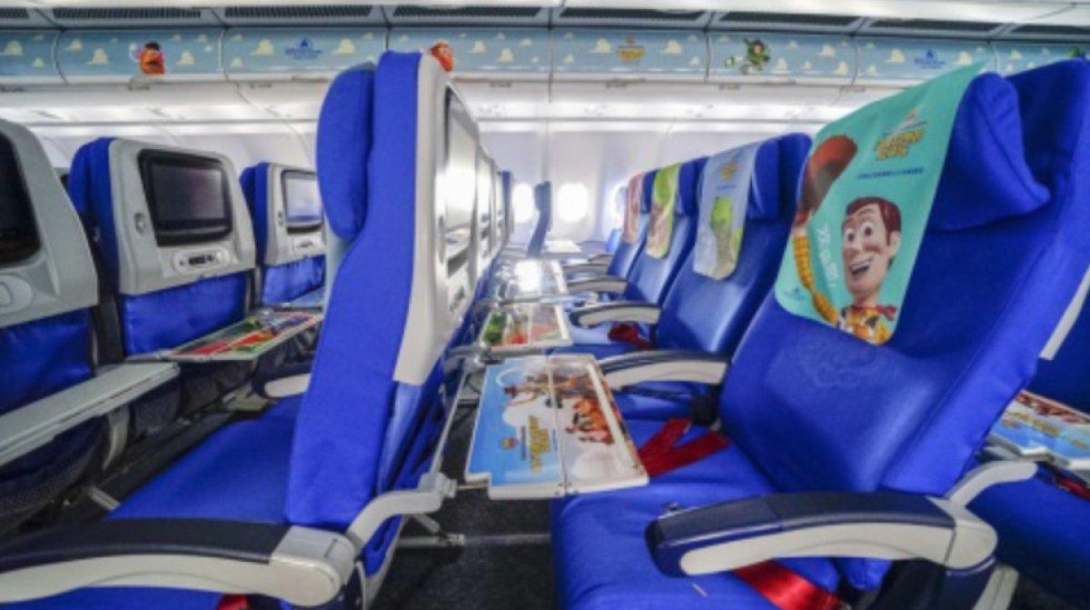 Ya existe el avión temáticao de 'Toy Story'