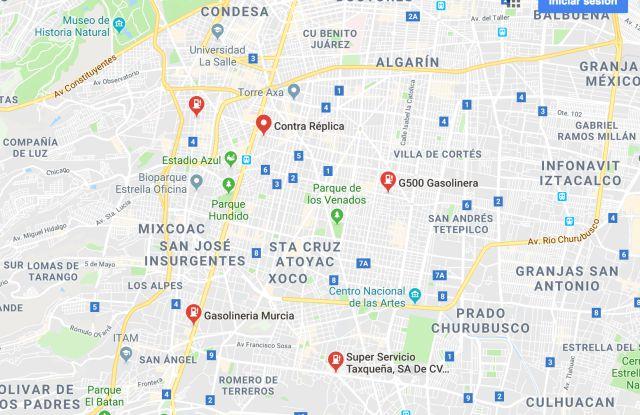 Google Maps te avisa en dónde hay gasolineras activas