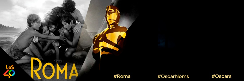 Roma la rompe con 10 nominaciones al Oscar