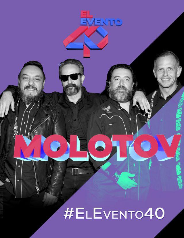 Molotov está en el Evento 40 2019 con todo su gimme the power y más canciones