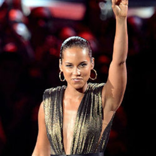 Alicia Keys en el Super Bowl