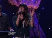 Performs 'On My Way' on Ellen.