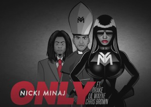 Nicki Minaj con imágenes pronazis en video 'Only'