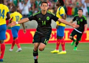 "Real Madrid destaca gol de ""Chicharito"" con el Tri"