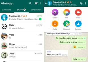 WhatsApp actualiza su interfaz en Android