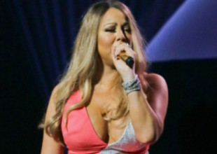 ¡Mariah Carey usa chones con diamantes!