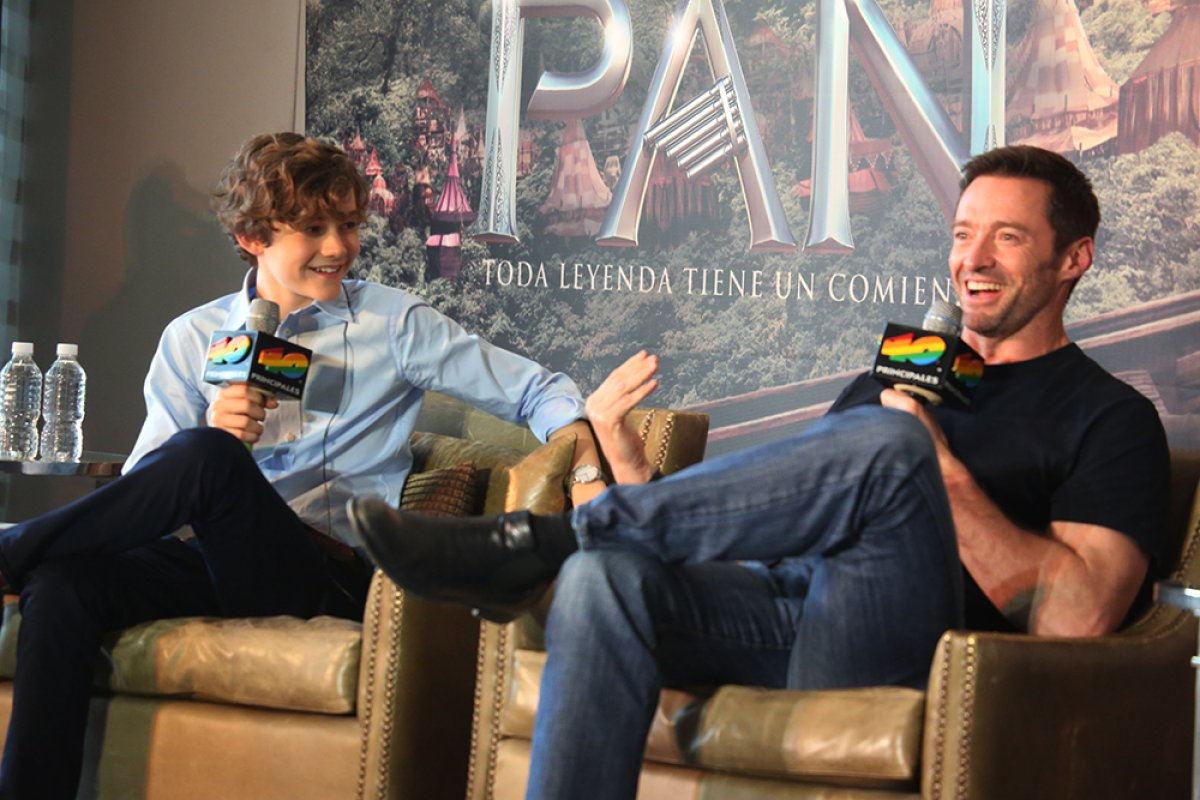 Lo mejor del Video Chat 40 con Hugh Jackman y Levi Miller
