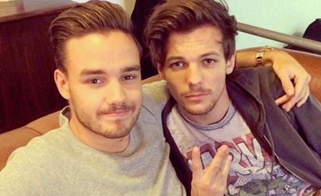 Louis y Liam provocaron hashtag por su beso accidental