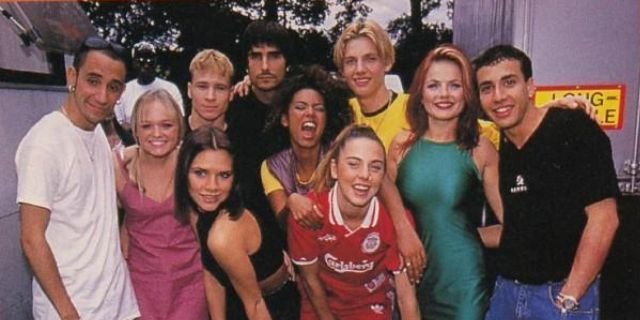 ¿Backstreet Boys y Spice Girls juntos?