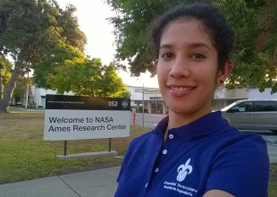 Estudiante mexicana en la NASA