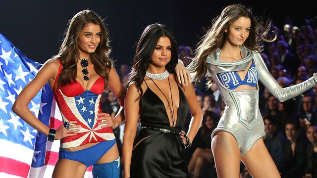 Selena Gómez lanza video con ángeles de Victoria's Secret