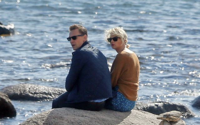 Otra vez descubren a Taylor Swift y Tom Hiddleston (VIDEO)