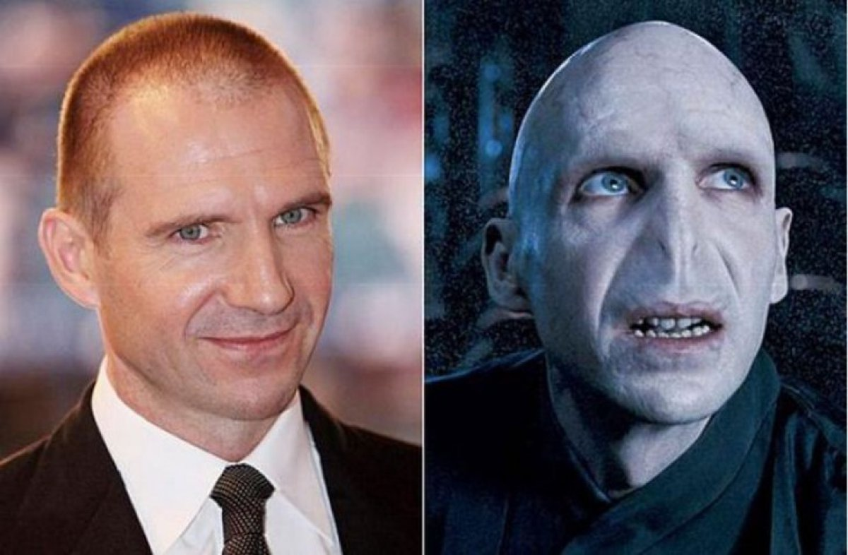 Ralph Fiennes - Lord Voldemort