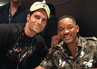 Henry Cavill le hace una divertida broma a Will Smith (video)