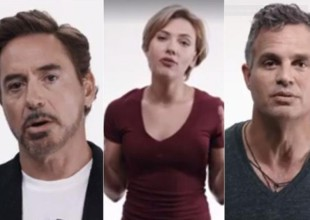 Los Avengers nos quieren salvar de Donald Trump con este video