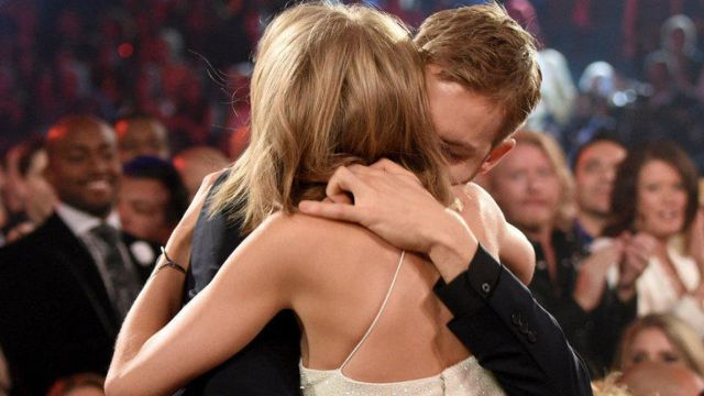 Calvin Harris y Taylor Swift en los Billboard Music Awards