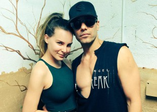 Fotos confirman el romance entre Belinda y Criss Angel