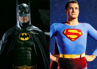 Subastan trajes originales de Batman y Superman