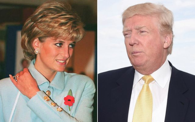 Donald Trump intentó ligarse a Lady Di