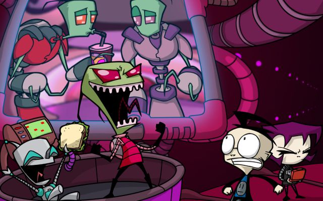 ¡Invasor Zim regresa!