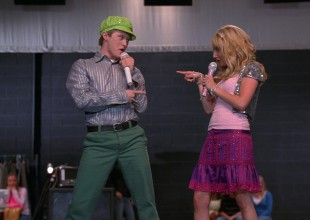 "Sharpay y Ryan se reencuentran para cantar ""What I've been looking for"""