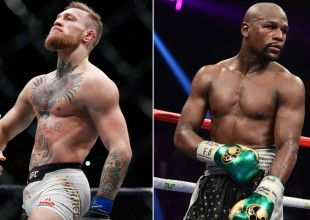 Floyd Mayweather vs. Conor McGregor en fotos