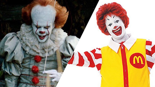 Pennywise Ronald McDonald prohibit IT