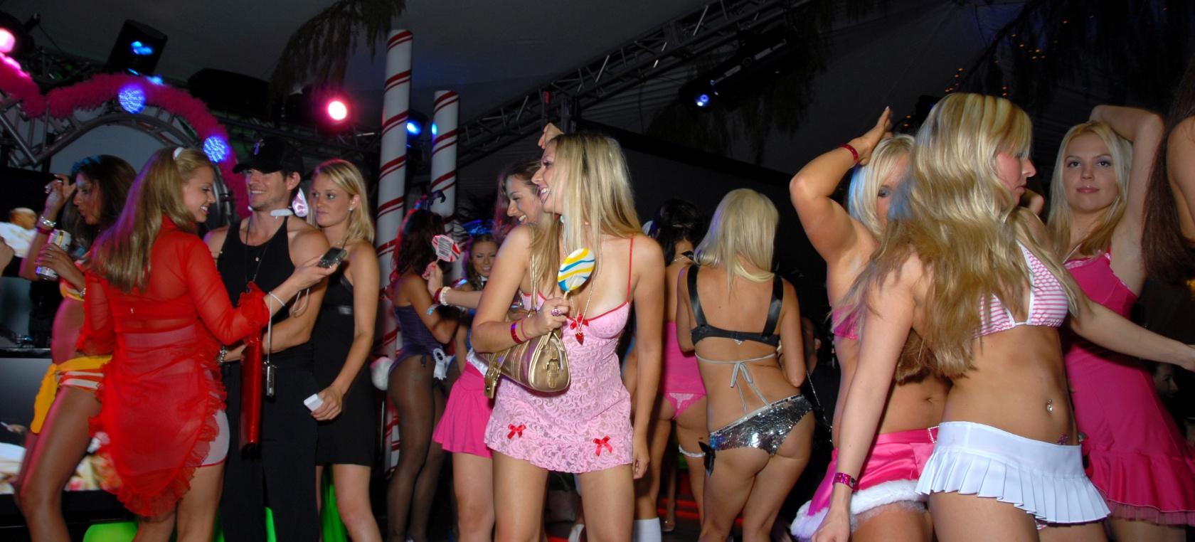 sexo en la fiesta