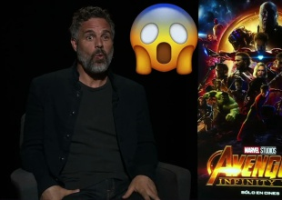 Mark Ruffalo describe Avengers: Infinity War con estos 3 emojis
