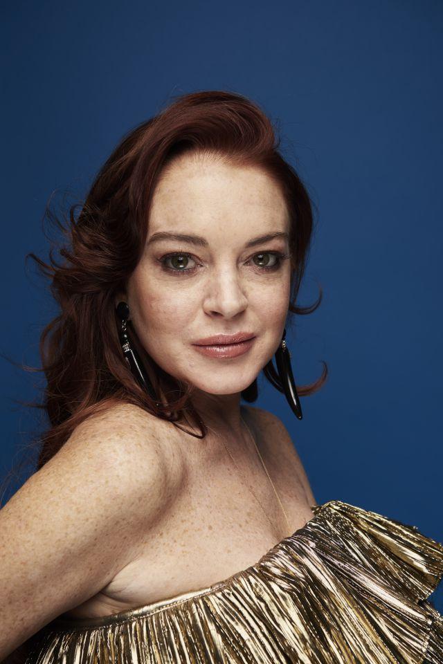 Lindsay Lohan es criticada por su aspecto en fotos que ...