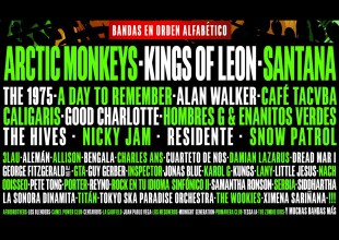 Line Up Pal Norte 2019