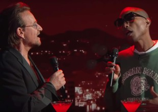 "Bono y Pharrell Williams juntos en ""Stayin' Alive"""