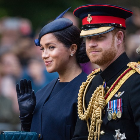El Duque Harry regaña a Meghan en un evento público