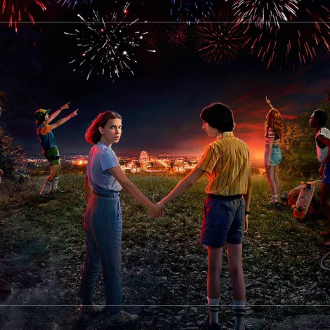 "Le rinden tributo a ""STRANGER THINGS"" con caricatura"