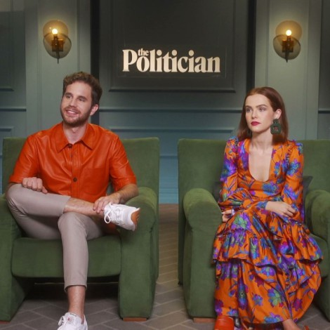 "Ben Platt y Zoey Deutch nos dicen por qué ver ""The Politician"""