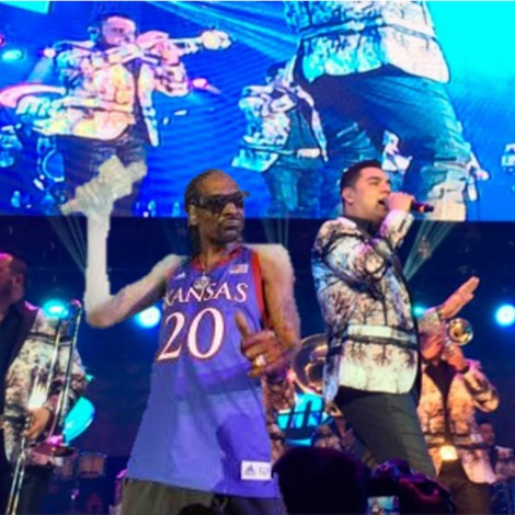 Snoop Dogg y Banda MS juntos haciendo música
