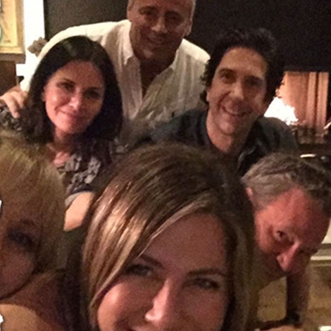 Jennifer Aniston reúne a todo el elenco de Friends en Instagram