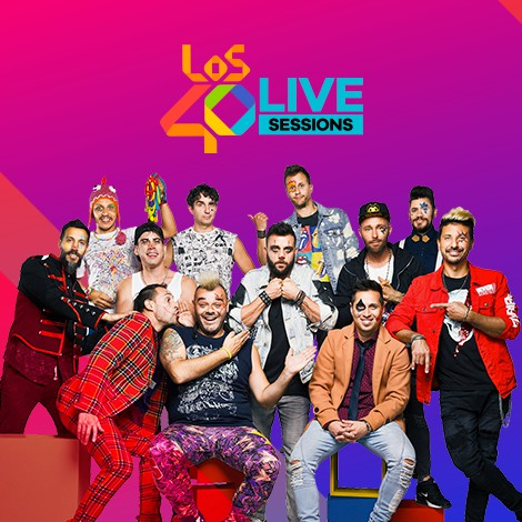 LOS40 en Live Sessions con Los Caligaris