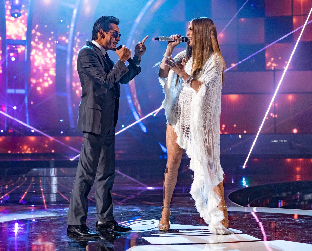 J Lo y Marc Anthony