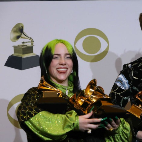Billie Eilish arrasa en los Grammy 2020