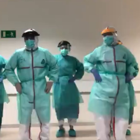 Médicos se entretienen bailando Single Ladies