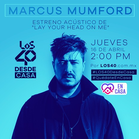 Estreno acústico de 'Lay Your Head On Me' en #LOS40DesdeCasa