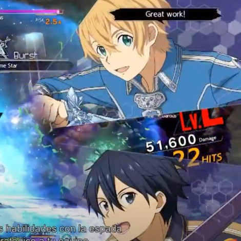 Sword Art Online Alicization Lycoris: Primer trailer revelado