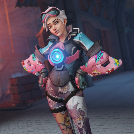 Overwatch: El Desafío Comic de Tracer ya está disponible