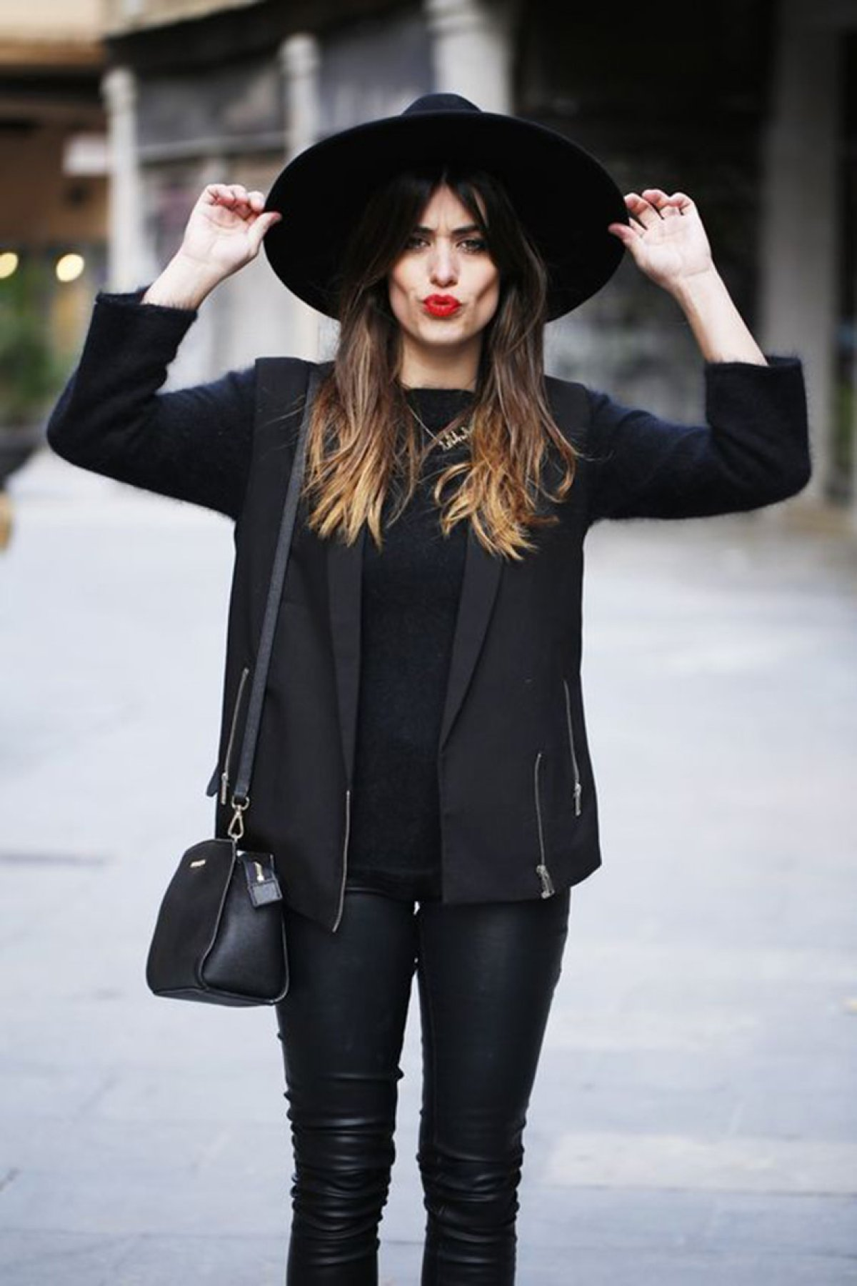 Total black, la tendencia de este invierno