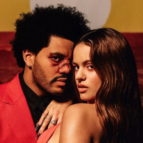 "Rosalía y The Weeknd juntos en el remix de ""Blinding Lights"""